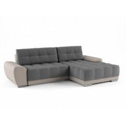 Пуэрто 342 угловой диван-кровать 2ек-2пф 603 серый (Bergen Grey, Bergen Ash)