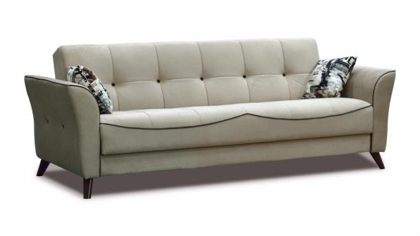 Тиффани 319 диван-кровать 3к 500 беж-кор