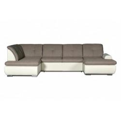 Джонатан 095 диван-кровать У1пф-2д-1пф (левый угол) 271 серо-бежевый