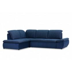Дискавери 337 угловой диван-кровать У1Пф-2д-Б (левый) 589 синий (Enzo 716, Спайк 34)