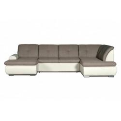 Джонатан 095 диван-кровать 1пф-2д-У1пф (правый угол) 271 серо-бежевый