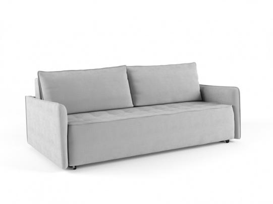 Крус 195 диван-кровать 3ек 586 светло-серый (Savoy 06)