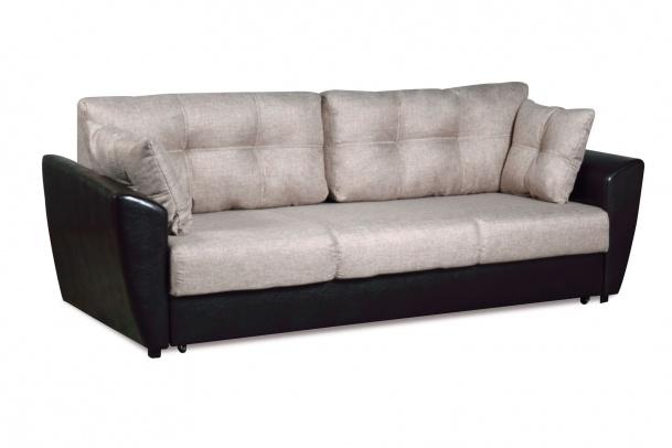 Мэделин 143 диван-кровать 3ек351 беж (мадагаскар 02/К/з ВИК-Тр коричневый)