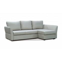 Гесен 200 диван-кровать угловой 2д-1пф 498 жемчужный (Romeo 02)