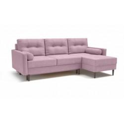 Карлос 349 диван-кровать 2тт-1пф 693 сиреневый (Кардиф 008)