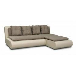 Наполи 326 диван-кровать угловой 2д-1пф (правый угол) 569 коричневый (Selma Brown, Oregon 12)