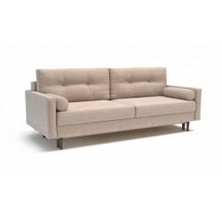 Карлос 349 диван-кровать 3тт 692 светло-бежевый (Кардиф 005)