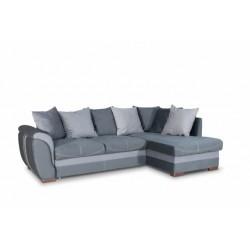 Дженифер 099 угловой диван-кровать Б-2д-У1Пф (правый) 576 темно-серый (Vital Grafit, Vital Pebble, Vital Dove)