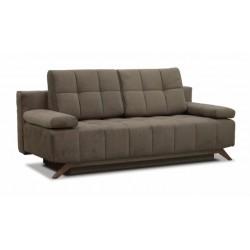 Баден-Баден 198 диван-кровать 3ек 495 шоколад (Bergen Brown)