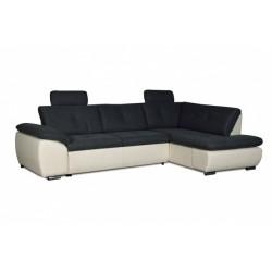 Кемерон 130 диван-кровать Б-2д-У1пф (правый угол)353 Alba Grafit
