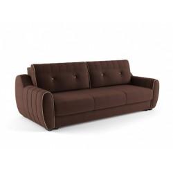 Ингрид 320 диван-кровать 3ек 545 шоколад/карамель (Vital Chocolate, Vital Сaramel)