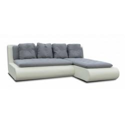 Наполи 326 диван-кровать угловой 2д-1пф (правый угол) 568 серый (Selma Grafit, Oregon 10)