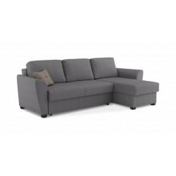 Триумф 287 угловой диван-кровать 2ек-1пф 701 меланж серый