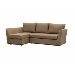 Гесен 200 диван-кровать угловой 2д-1пф 497 орех (Romeo 03)
