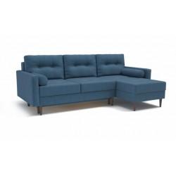 Карлос 349 диван-кровать 2тт-1пф 696 синий (Кардиф 026)