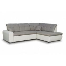 Джонатан 095 диван-кровать Б-2д-У1пф (правый угол) 271 серо-бежевый
