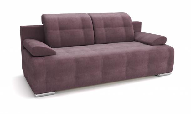Лион 346 диван-кровать 3ек 631 лиловый (Atlanta Lilac)