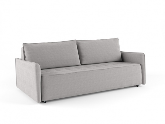 Крус 195 диван-кровать 3ек 599 пепельный (Elva Ash)