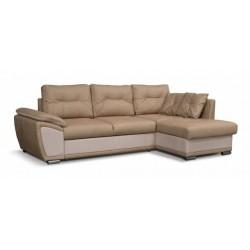 Риттэр 199 диван-кровать Б-2д-У1Пф (правый) 535 темный беж