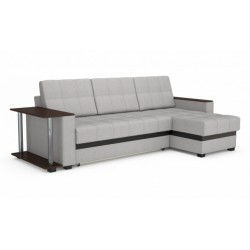 Версаль 184 диван-кровать 2ек-1пф-Ст 347 серо-черный