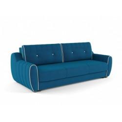 Ингрид 320 диван-кровать 3ек 547 синий (Vital Denim, Vital Ivory)