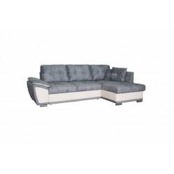 Риттэр 199 диван-кровать Б-2д-У1Пф (правый) 454 серо-бежевый