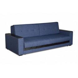 Мэйсон 140 диван-кровать 3ек 358 синий (мадагаскар 08/К/з ВИК-Тр коричневый)