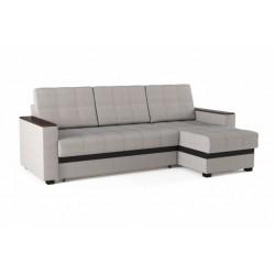 Версаль 184 диван-кровать 2ек-1пф 347 серо-черный