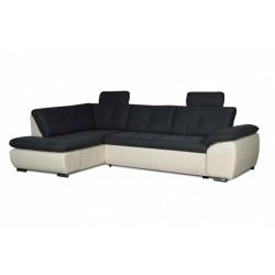 Кемерон 130 диван-кровать У1пф-2д-Б (левый угол) 353 Alba Grafit