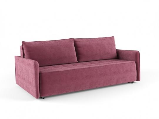 Крус 195 диван-кровать 3ек 597 бордовый (Savoy 13)