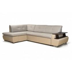 Дюссельдорф 147 диван-кровать У1пф-2д-Б (левый угол) 390 беж