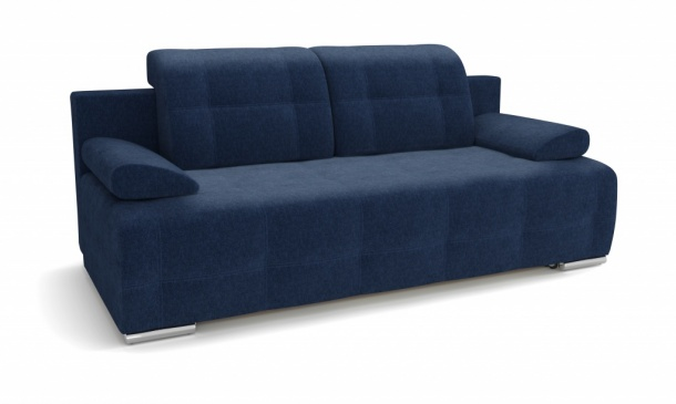 Лион 346 диван-кровать 3ек 630 синий (Atlanta Denim)