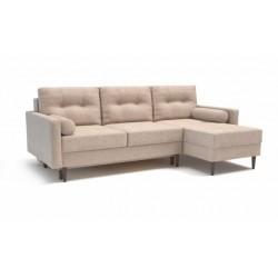 Карлос 349 диван-кровать 2тт-1пф 692 светло-бежевый (Кардиф 005)