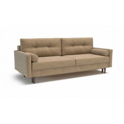 Карлос 349 диван-кровать 3тт 694 бежевый (Кардиф 016)