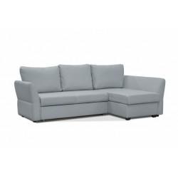 Гесен 200 диван-кровать угловой 2д-1пф 480 серый камень (Romeo 13)
