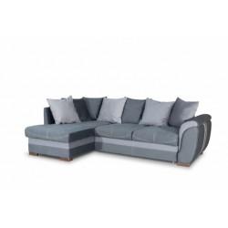 Дженифер 099 угловой диван-кровать 1ПфУ-2д-Б (левый) 576 темно-серый (Vital Grafit, Vital Pebble, Vital Dove)