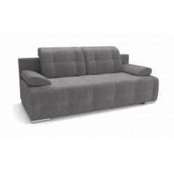 Лион 346 диван-кровать 3ек 633 серый (Atlanta Grey)