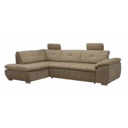 Кемерон 130 диван-кровать У1пф-2д-Б (левый угол) 424 Мокко (Liberty Nuga, Liberty Cocoa)