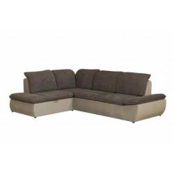 Дискавери 337 угловой диван-кровать У1Пф-2д-Б (левый) 587 темно-серый (Enzo 706, Спайк 08)