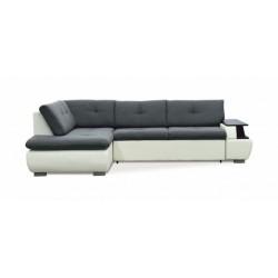 Дюссельдорф 147 диван-кровать У1пф-2д-Б (левый угол) 353 Alba Grafit